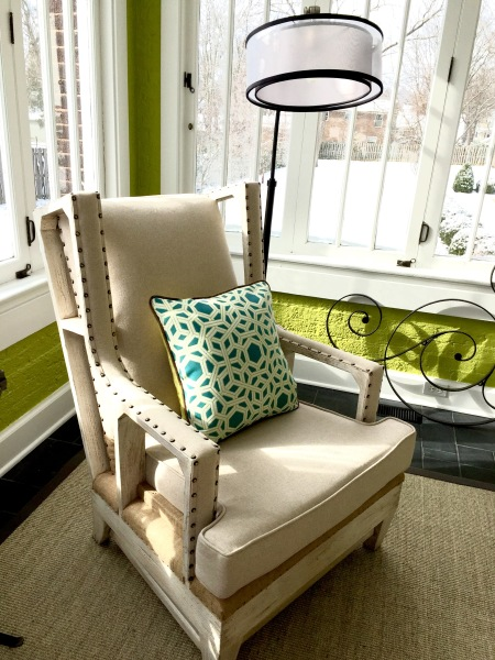 Accent Chair Vignette