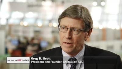 Greg Scott Interviewed at BIO-Europe Spring