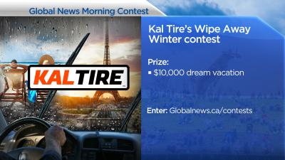 Kal Tire's Wipe Away Winter Contest