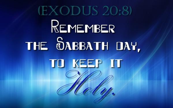 SabbathHoly