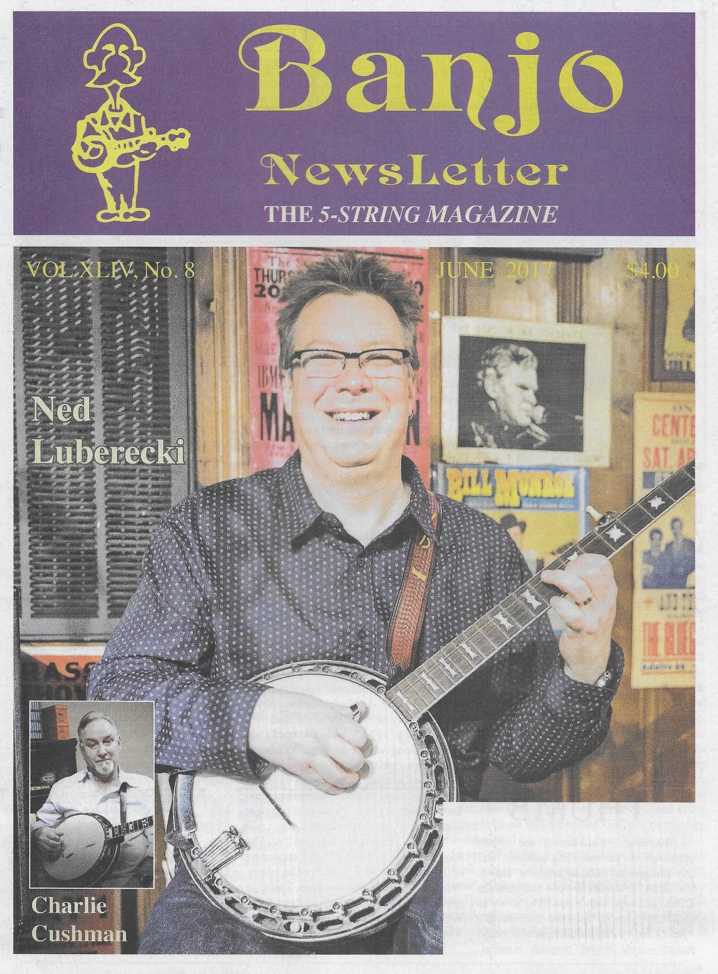Great Tone Amp Review in Banjo Newsletter of June 2017 by Bob Piekiel
