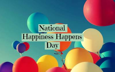 National Happiness Happens Day!
