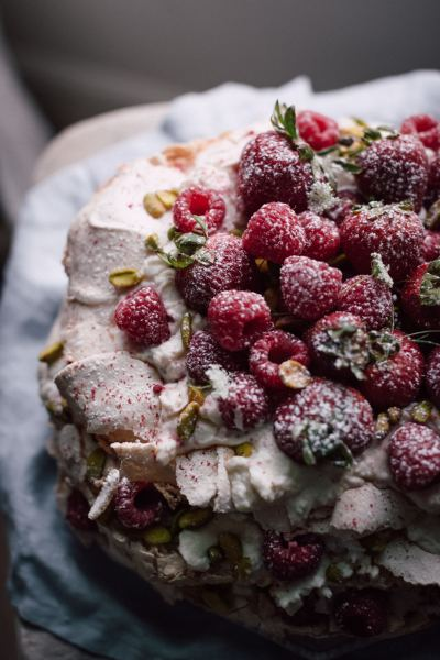 Picture of Pavlova, office of party food delivered Dorset and Wiltshire