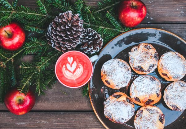 christmas catering mince pies