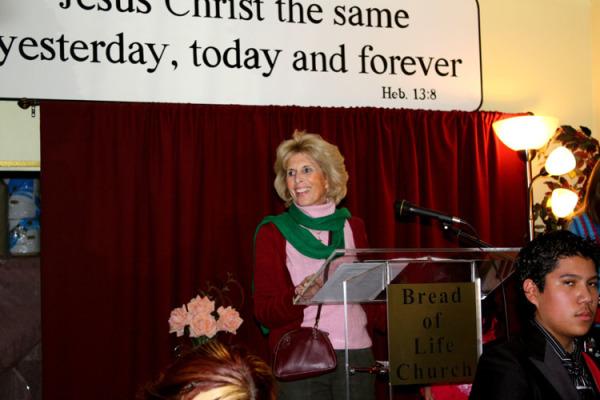 Pastor Ellen Wohl
