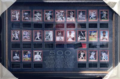 500 Home Run Laser Commemorative