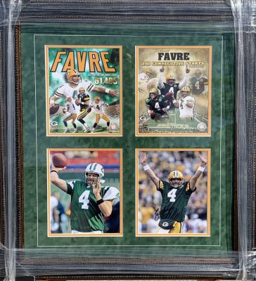 Brett Favre Photo Collage - 4 8x10's