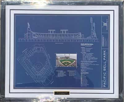 Blueprint to Pac Bell Park #1