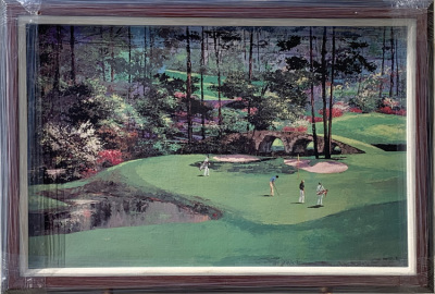 Augusta 13th Hole - Canvas