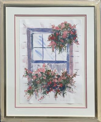 Flowers on Windowsill  LE 2/2