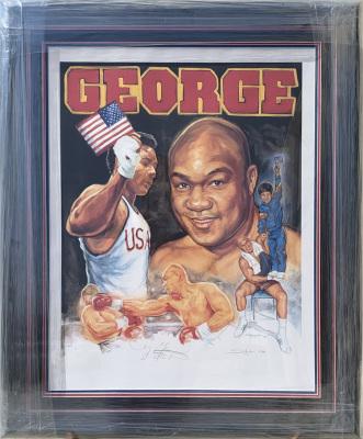 George Foreman Print 10/432