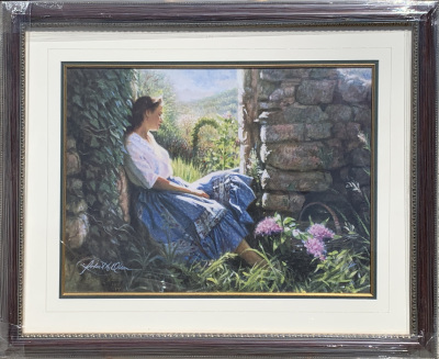 Young Woman in Garden  1562/1875