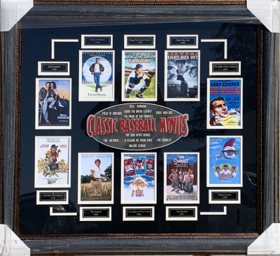 Classic Baseball Movies Collage