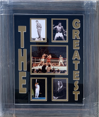 Muhammad Ali 5 Photo Collage