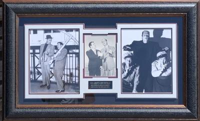 Abbott & Costello Shadow Collage