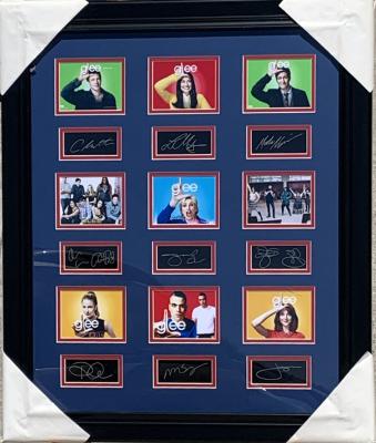 Glee Laser Collage