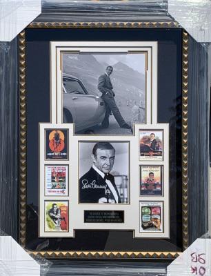 James Bond 007  Shadowbox Collage