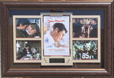 Jerry Maguire Collage Shadowbox
