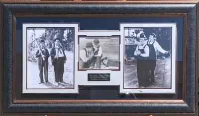 Laurel & Hardy Shadowbox Collage