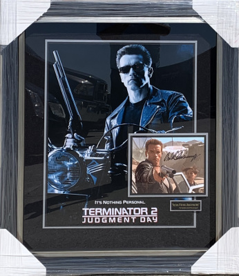 Terminator 2 Shadowbox Collage