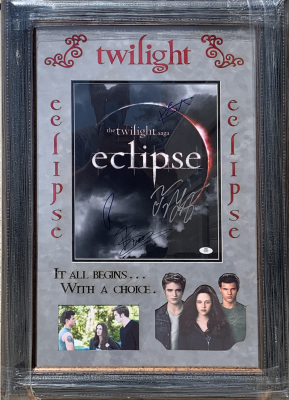 Twilight 11x14 Deluxe Cast Signed
