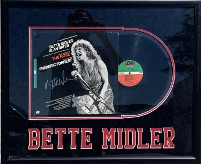 Bette Midler Album Collage
