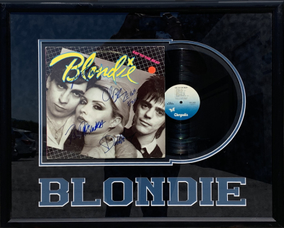 Blondie Album Collage
