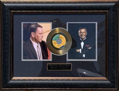 "Frank Sinatra Gold ""45"" Collage"