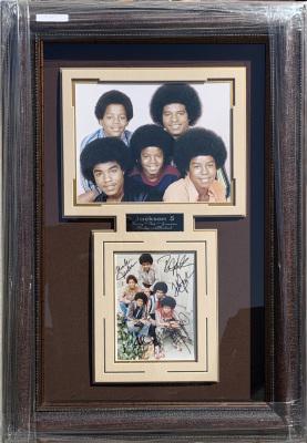 Jackson 5 Shadowbox Collage