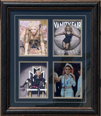 Madonna Phto Collage 4 - 8x10's