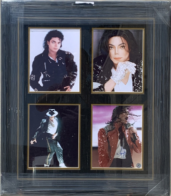 Michael Jackson 4 - 8x10's Photo Collage (#1)