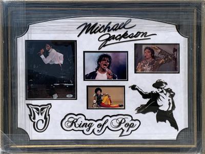 Michael Jackson Deluxe Collage