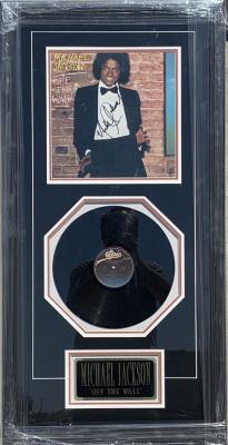 Michael Jackson Framed Album Collage