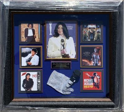 Michael Jackson Shadowbox Collage