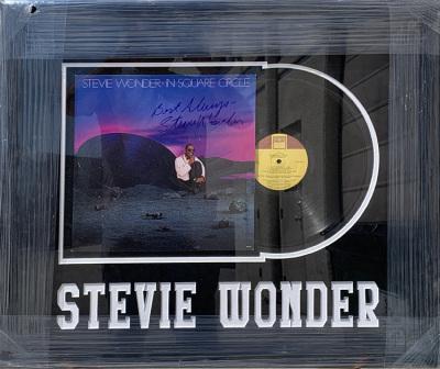 Stevie Wonder Album Collage