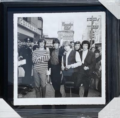 The Rolling STones Bite the Big Apple B/W Photo  197/199