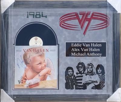 Van Halen Album Collage