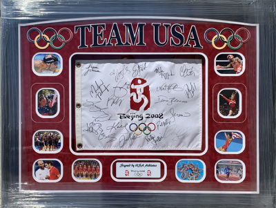 2008 Beijing Olympic Flag Collage