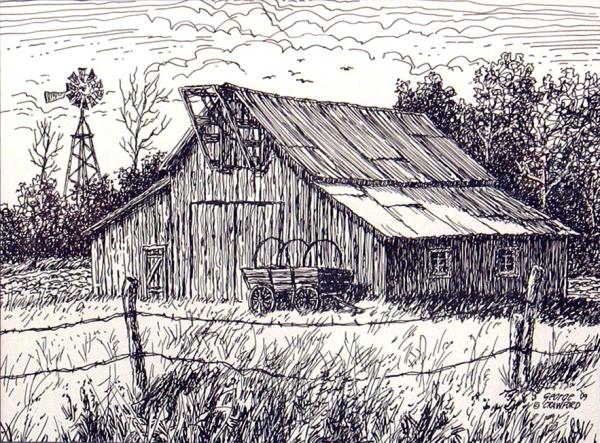 Evan's Old Barn