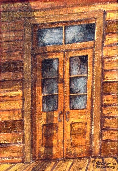 Rustic Entryway