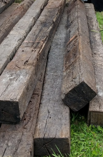 old railroad ties looking for a home
