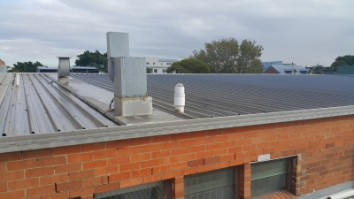 Roof Sheeting Removal & Strip-Out(Installing Anchor Points)
