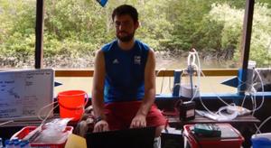 Pierre has been conducting carbon flux research in Vietnam