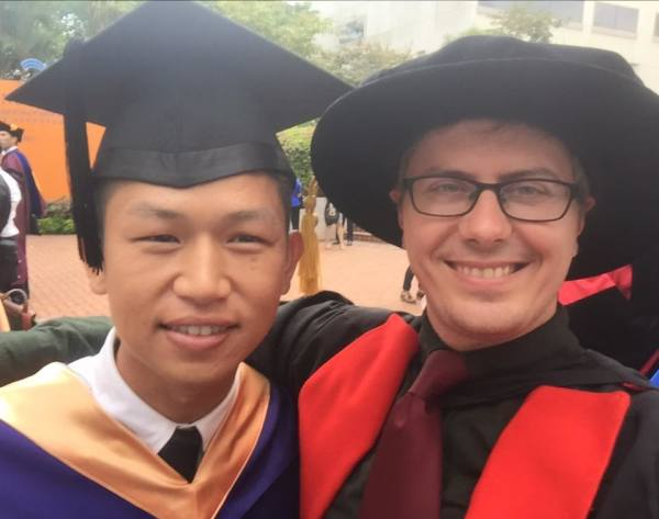 Wei Kit, Rui Xiang and Ruoming are graduating!