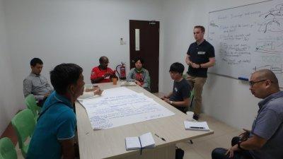 Mangrove Lab and RUM hosting restoration workshop in Singapore