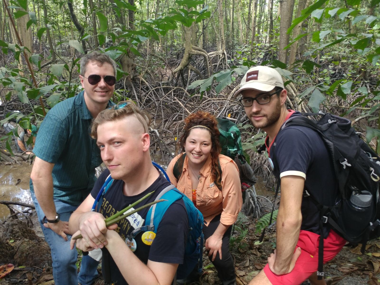 The Mangrove Lab celebrate World Wetlands Day...in a mangrove.