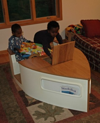 Custom kids play table