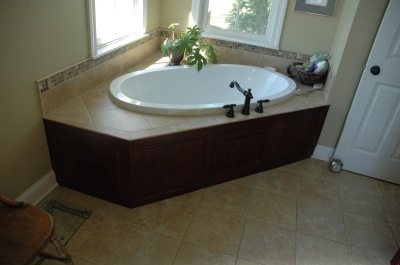 Bath surround