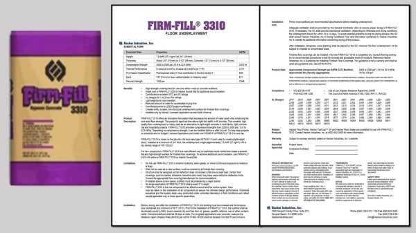 FIRM-FILL® 3310