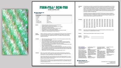 FIRM-FILL® SCM-750
